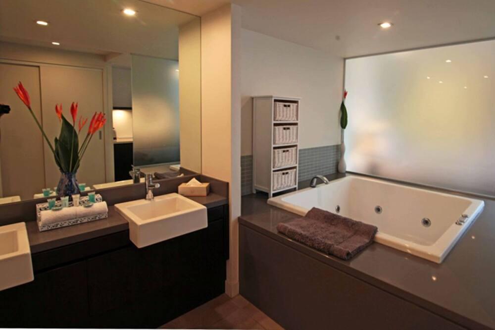 Monolocale Luxury, 1 letto king - Bagno