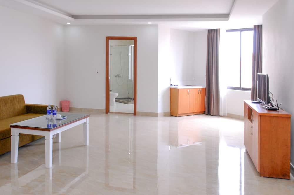 Apartamento Deluxe - Área de Estar
