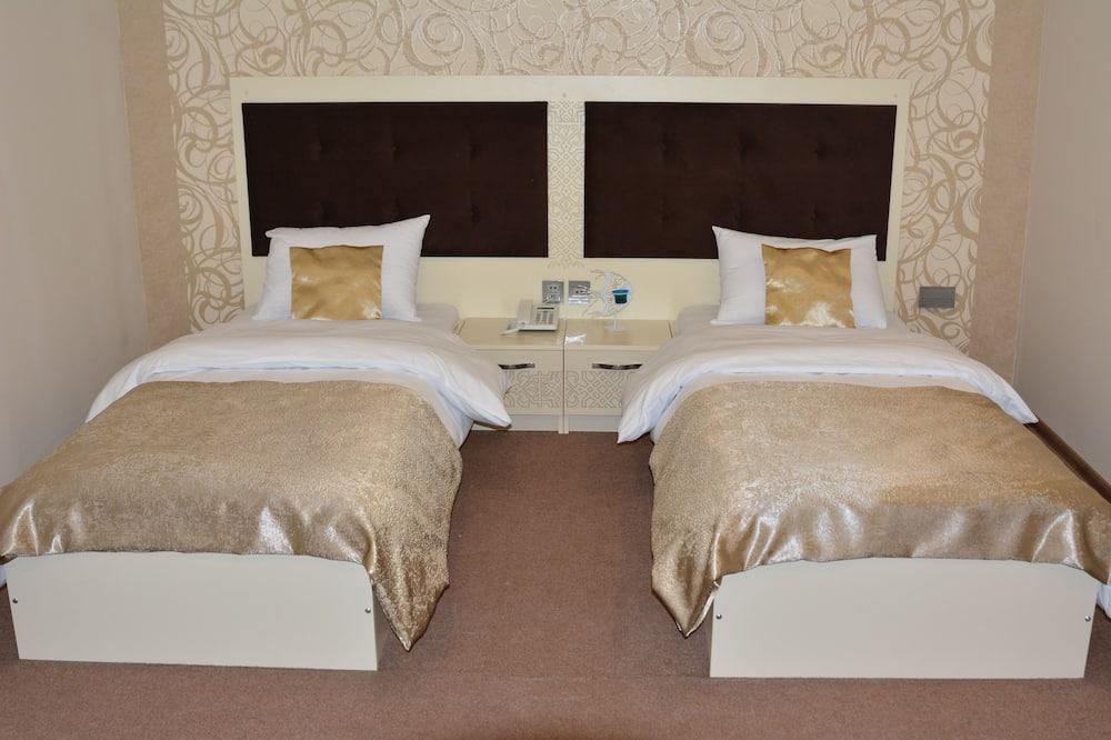 標準雙人或雙床房, 非吸煙房, 城市景 - 客廳