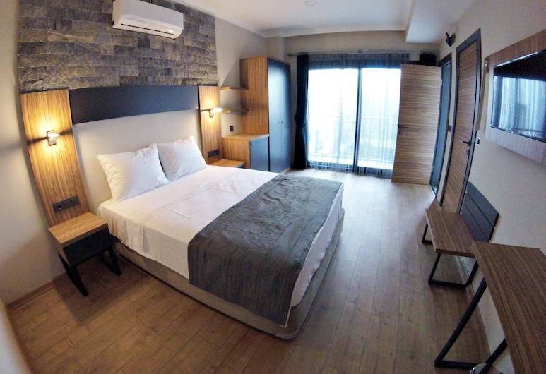 Akkan Plus Hotel, Bodrum, Standard Double Room, Sea View, Guest Room