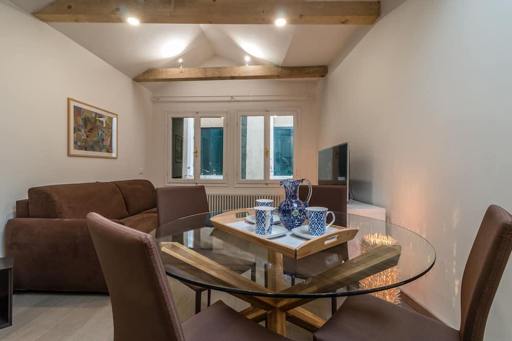 Klassiek appartement - Woonruimte