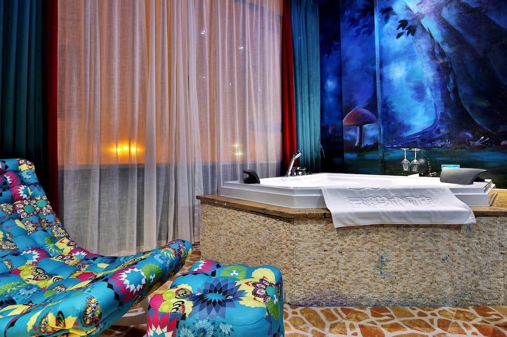 Dizajnová dvojlôžková izba - Kúpeľňa