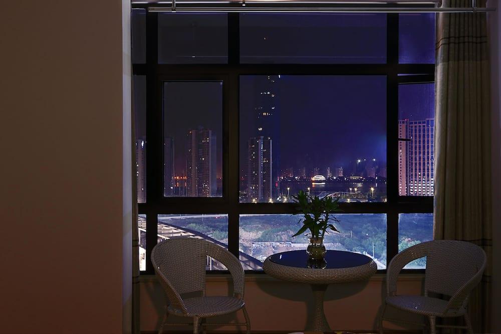 Deluxe szoba kétszemélyes ággyal, kilátással a folyóra - Szoba