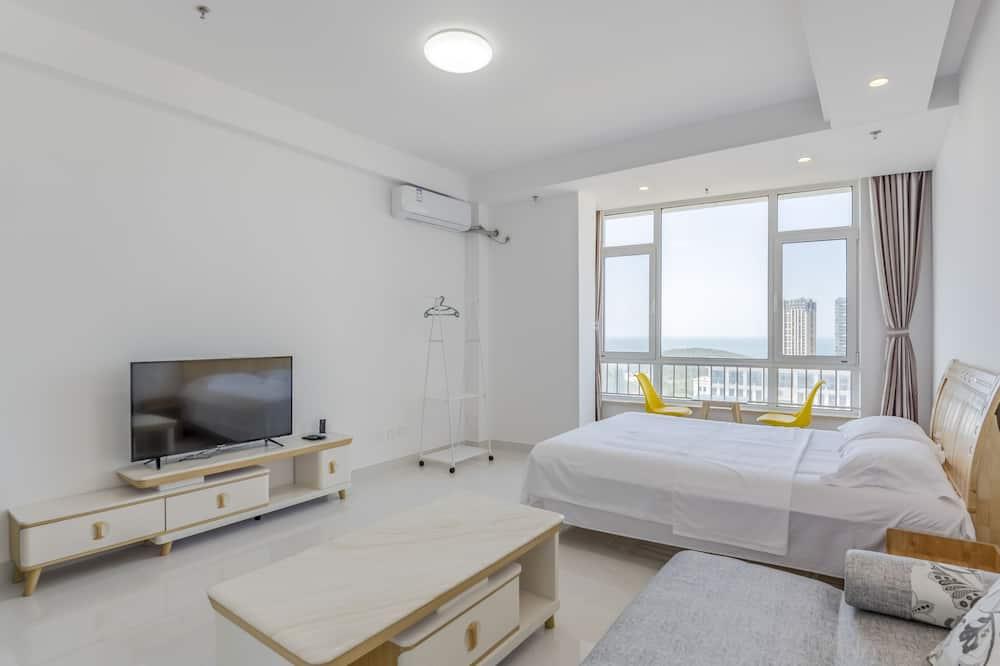 Kambarys šeimai, 1 miegamasis, vaizdas į vandenyną - Kambarys