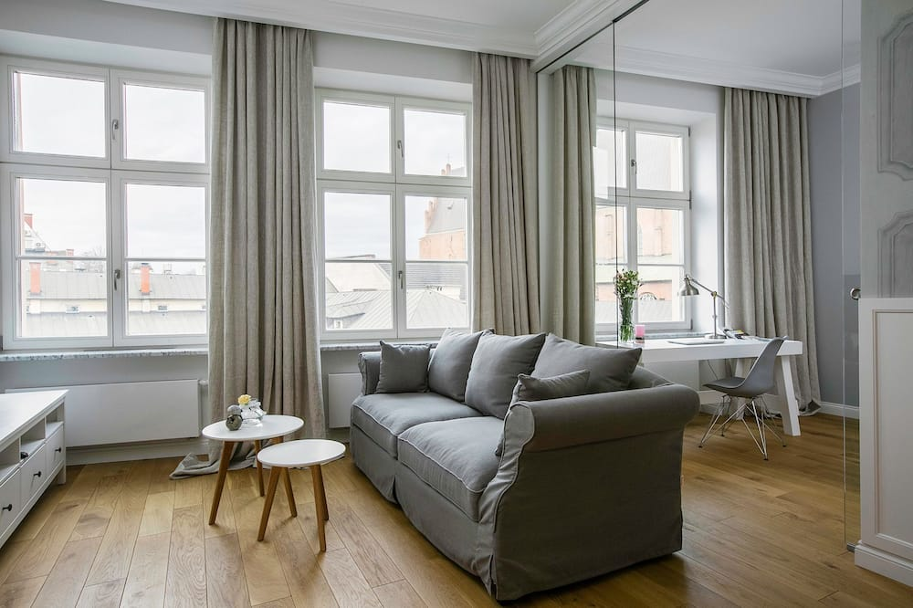 Luxury Apartment, 1 Bedroom, Kitchenette, City View - Bilik Rehat