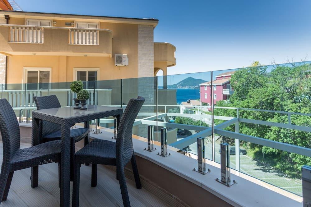 Deluxe apartman, 2 spavaće sobe, pogled na more - Balkon