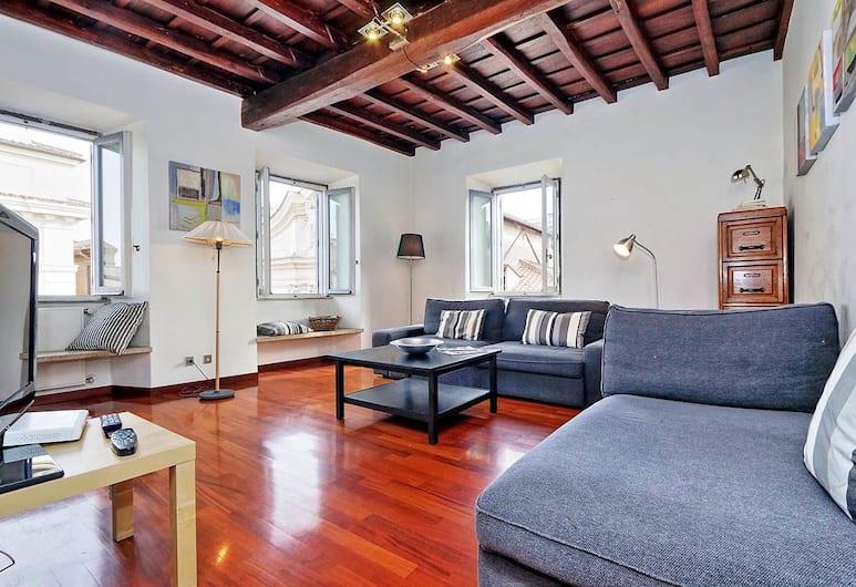 Farnese Elegant Apartment, Rome, Appartement (2 Bedrooms), Coin séjour