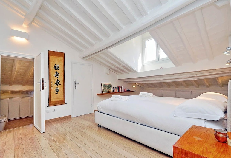 Pantheon Charming Attic, Rome, House, 1 King Bed, City View (Pantheon Charming Attic), Room