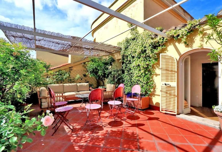 Spanish Steps Terrace Penthouse, Rome, Apartment (2 Bedrooms), Terrace/Patio