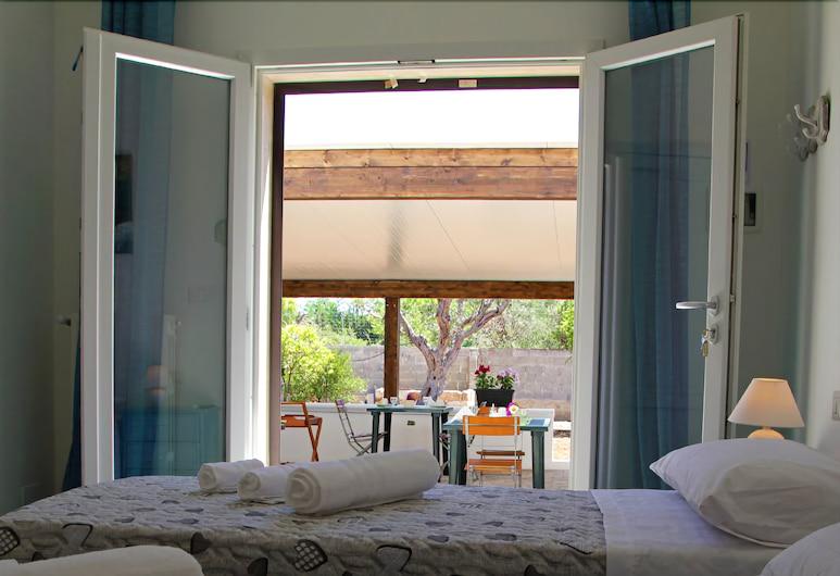 B&B Fellini, Gallipoli, Habitación básica con 1 cama doble o 2 individuales, Habitación