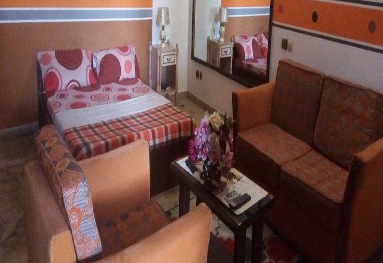 레지덩스 오텔 마이지스, 아비장, 시티 스위트, 퀸사이즈침대 1개, 발코니, 객실