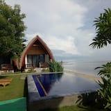 Deluxe bungalow, Uitzicht op zee - Kamer