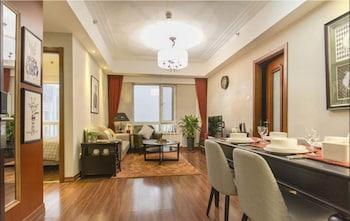 베이징의 홈 투 어드밴스드 서비스 아파트먼트 뉴 컨트리 엑시비션 숍(중국인 고객 전용) 사진