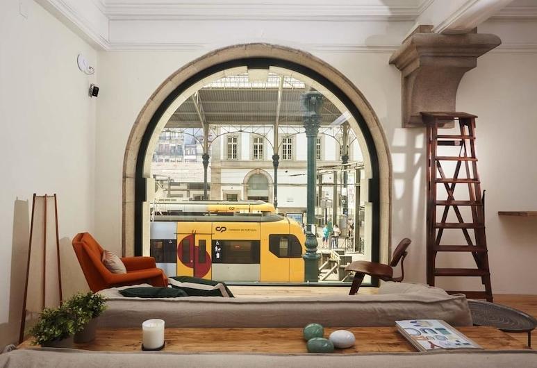 The Passenger Hostel, Porto, Puhkeala fuajees