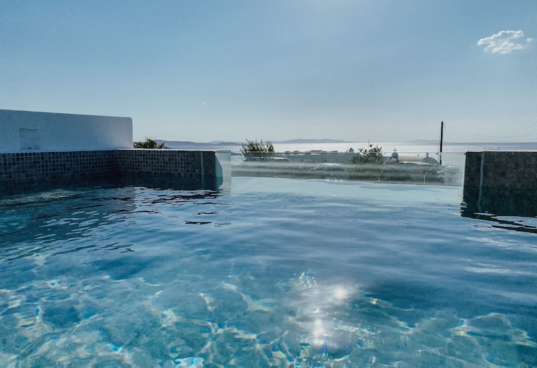 Eternal Suites, Mykonos, Junior Suite, Private Pool, Sea View, View from room