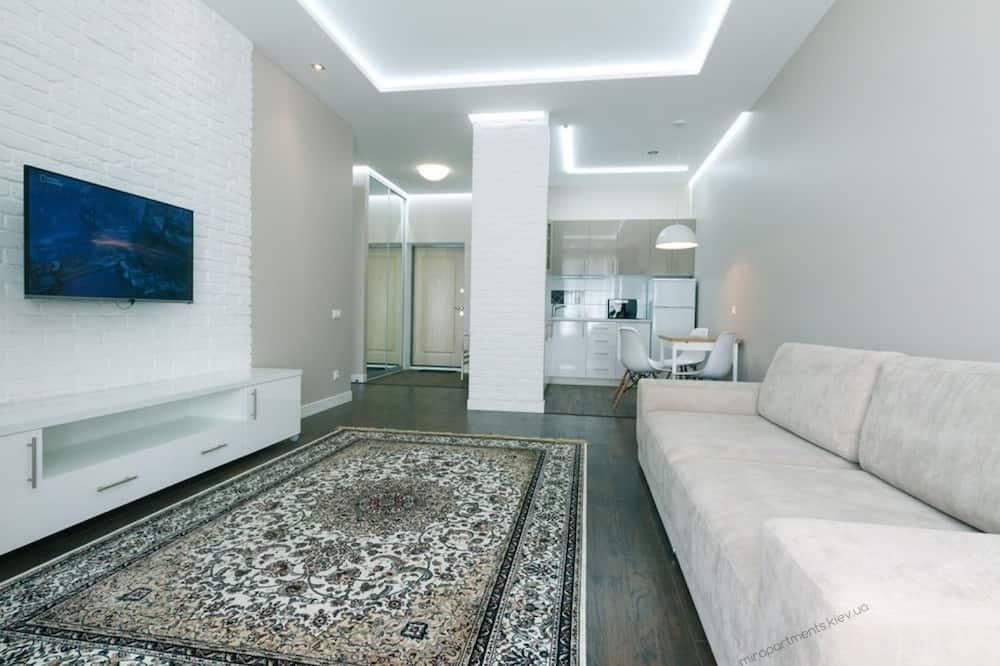Apartmán typu Business, 1 spálňa, balkón - Obývacie priestory