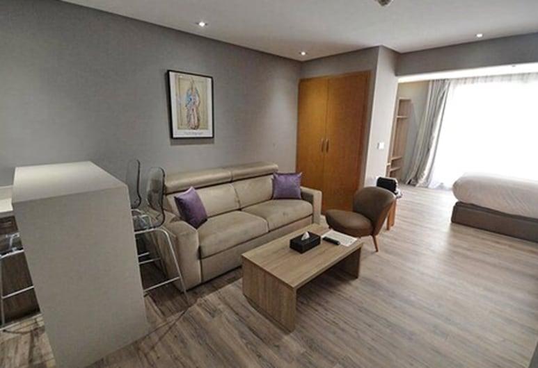 Le 22 Appart' Hôtel Casablanca, Casablanca, Senior Apartement with Terrace , Vista desde la habitación