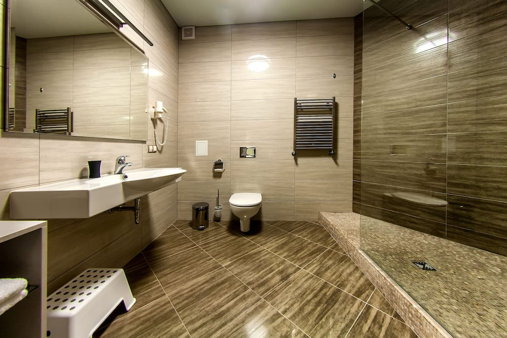 Pokój dwuosobowy z 1 lub 2 łóżkami typu Comfort - Łazienka
