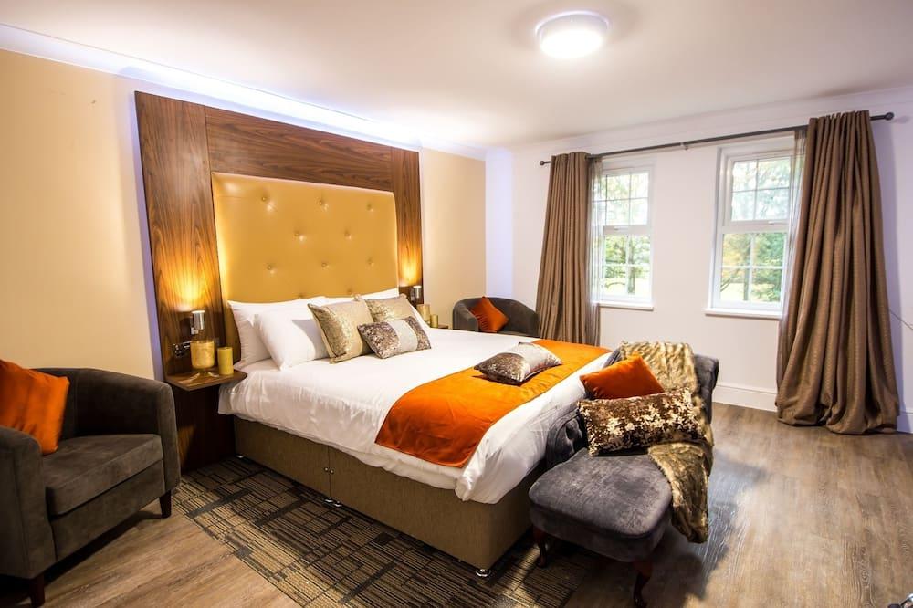 Standard Δίκλινο Δωμάτιο (Double), 1 King Κρεβάτι - Δωμάτιο επισκεπτών