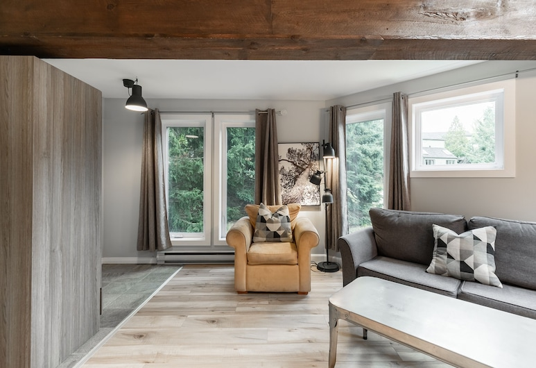 Le Rustique by KASANIA, Mont-Tremblant, Kondominium, 1 kamar tidur, Ruang Keluarga