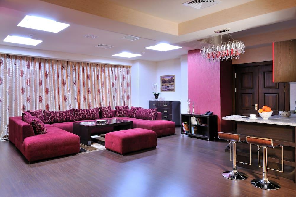 شقة سوبيريور - غرفة معيشة