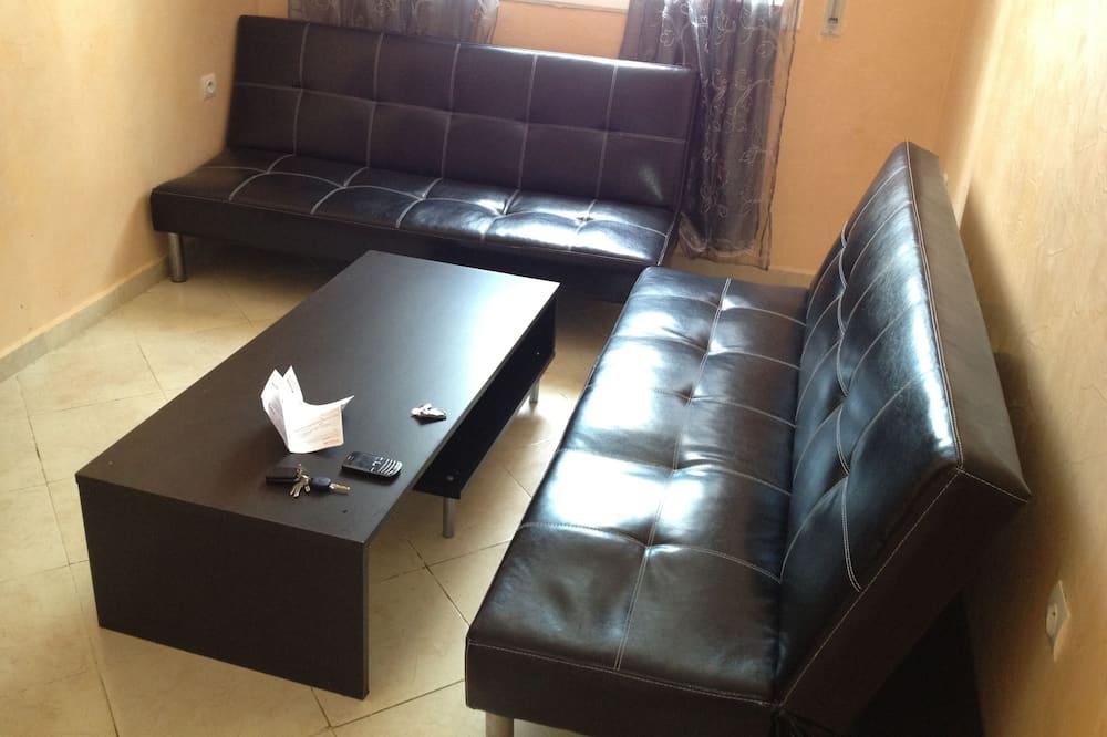 Perushuoneisto, 2 makuuhuonetta - Olohuone