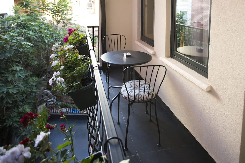 apartman, 1 hálószobával, dohányzó, erkély - Erkély