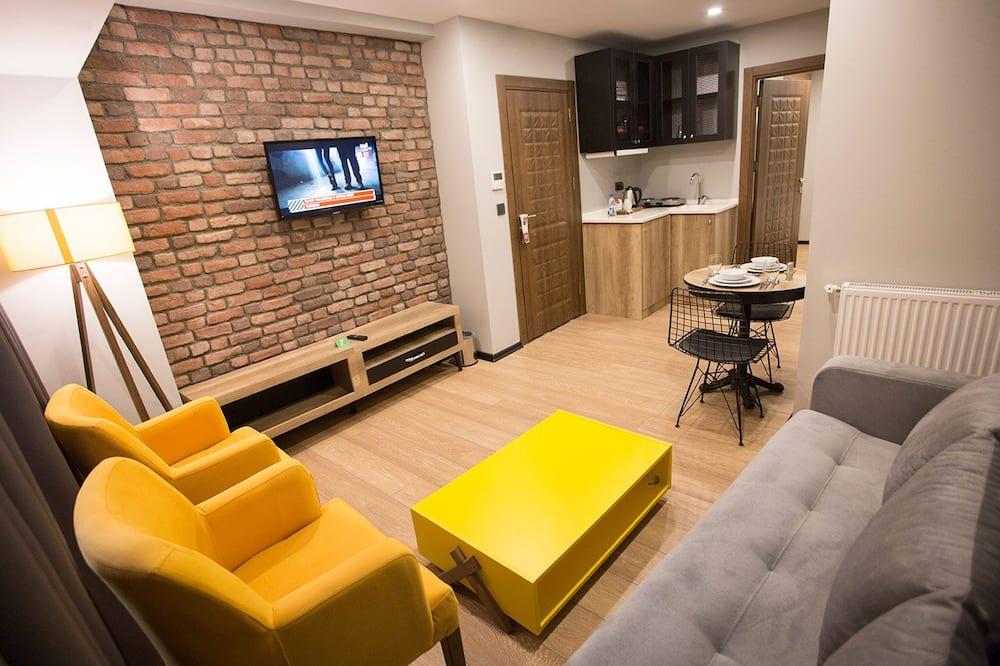 Apartment Basement /Ground Floor  - Nappali rész