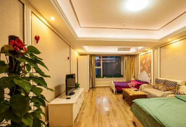 Guotai Ganghui Huiting Apartment, Dalian, Habitación cuádruple superior, Habitación