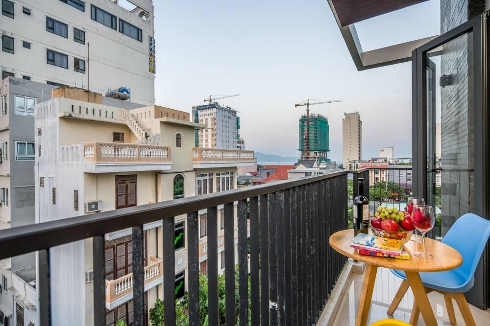 Economy Room, Multiple Beds, Balcony, Beach View - Balcony