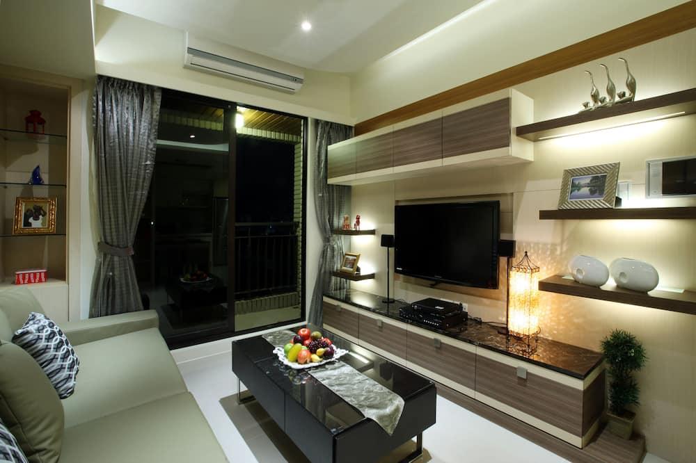 豪華四人房, 2 間臥室 - 客廳