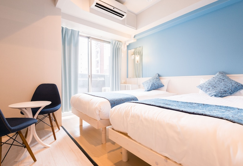 Grandi日本橋Park Hotel, 大阪市, リゾートグリーンスタイル ツインルーム  禁煙, 部屋