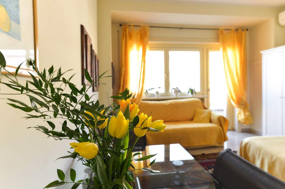 Grand kamer, 1 twee- of 2 eenpersoonsbedden - Kamer