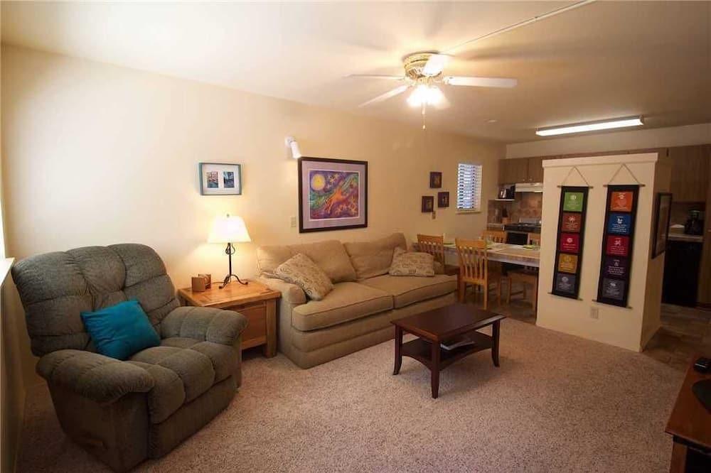 Kooperatīva tūristu mītne, viena guļamistaba, iekšējais pagalms - Dzīvojamā istaba