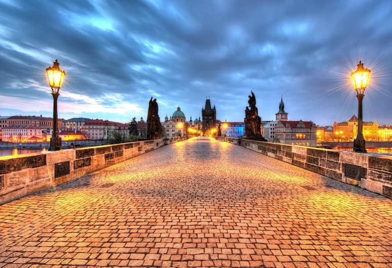 Prague Krtek Apt in the Heart of Prague, Praga, Appartamento, 1 letto matrimoniale (Vodickova 26), Vista dalla struttura
