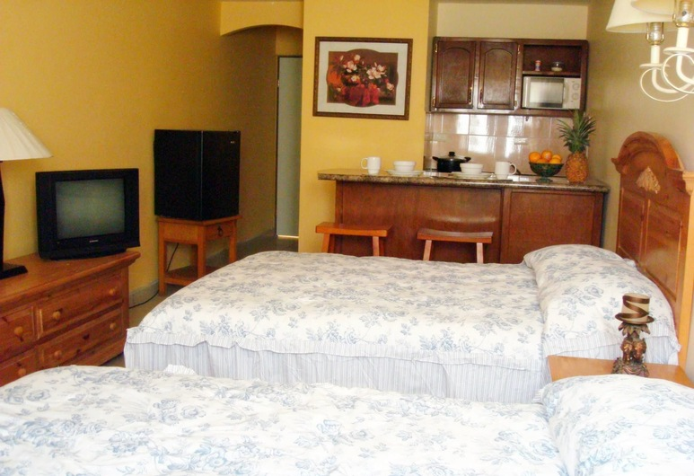 El Ejecutivo Aparthotel, Cajeme, Classic Double Room, 2 Double Beds, Guest Room