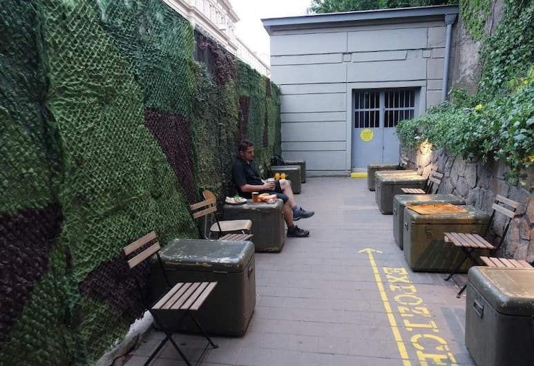 10-Z Bunker, Brno, Terrace/Patio