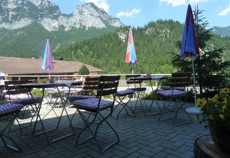 อัลเพนโฮเต็ล เบส์ลอฟ, Ramsau bei Berchtesgaden, ลานระเบียง/นอกชาน