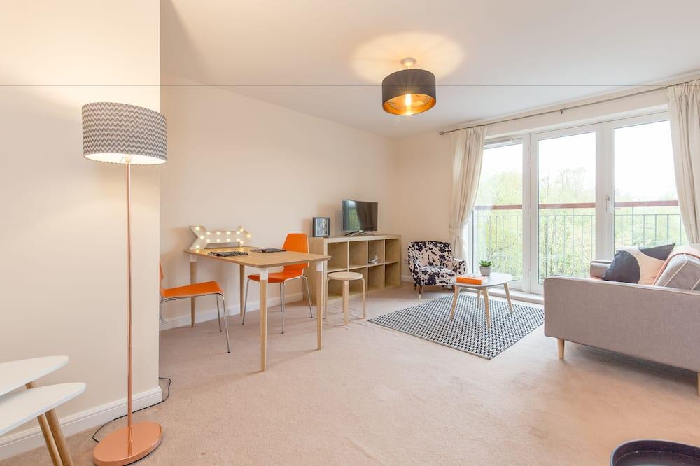 Apartmán typu Comfort, 1 ložnice - Obývací pokoj