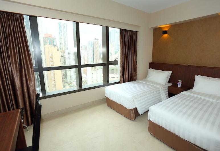 伯惠酒店, 香港, 高級雙床房, 客房景觀