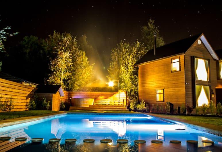 Departamentos Buenavista Pucon, Pucon, Vonkajší bazén