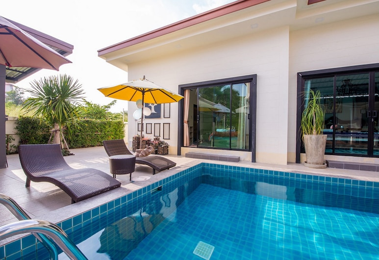 Baan Big Family HuaHin Pool Villa, Hua Hin, 6-Bedroom Pool Villa , Terasa
