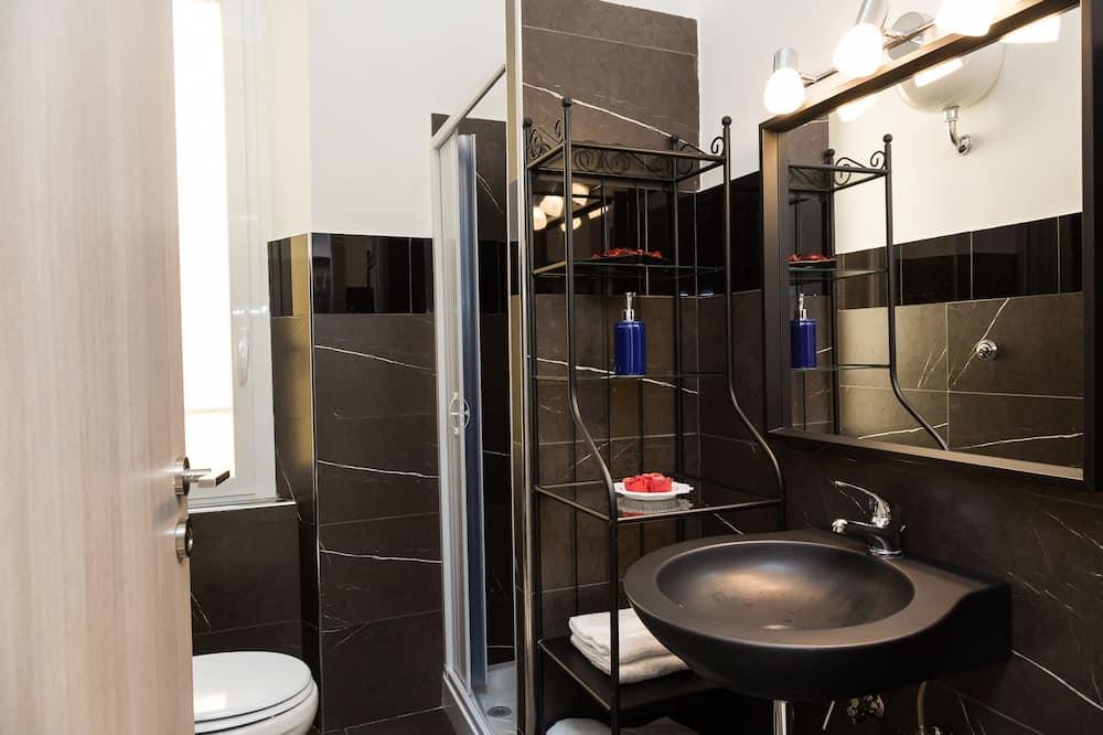 Chambre Double (Private External Bathroom) - Salle de bain