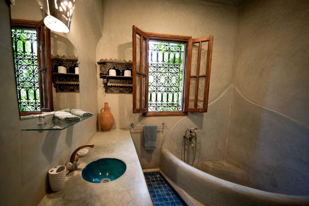 Comfort-dobbeltværelse - terrasse - Badeværelse