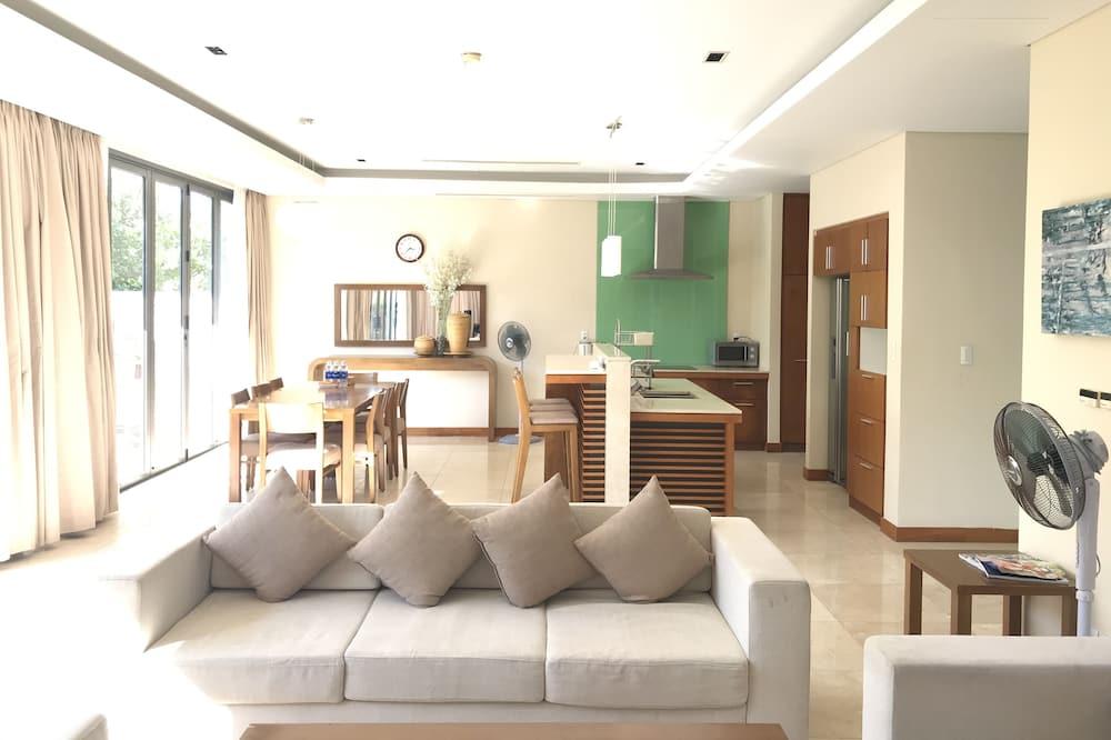 Villa, 3 hálószobával - Nappali rész