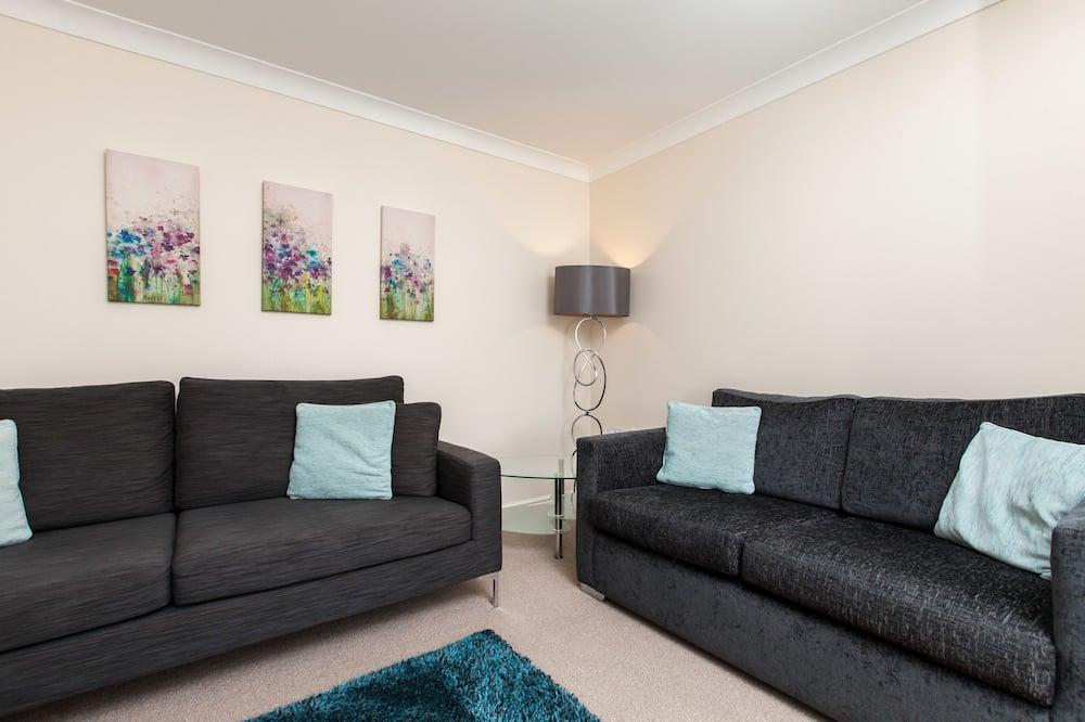 Apartament typu Premium, 2 sypialnie, na parterze - Salon