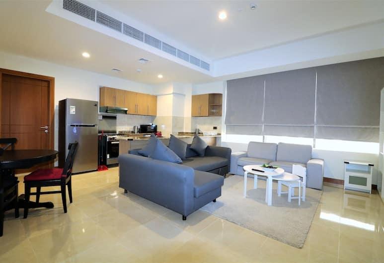Piks Key - Al Murad, Dubajus, Apartamentai, 1 miegamasis, Svetainės zona