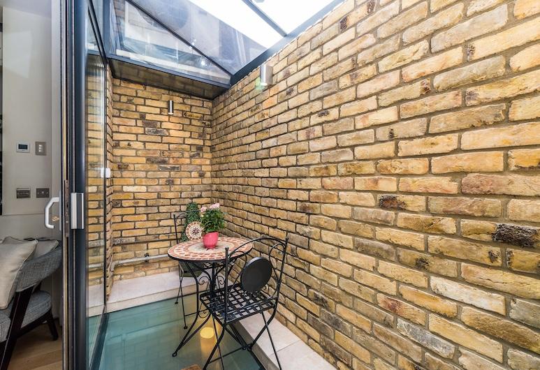 貝福德貝里酒店, 倫敦, 奢華公寓, 2 張標準雙人床, 非吸煙房, 陽台