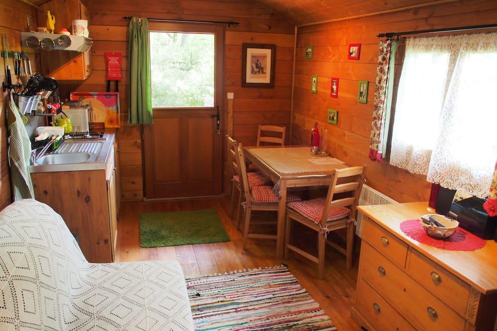 Huisje - Woonruimte