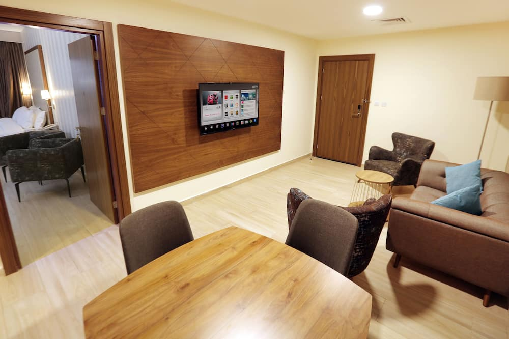 Camera Executive, 1 camera da letto, frigorifero, al piano executive - Soggiorno